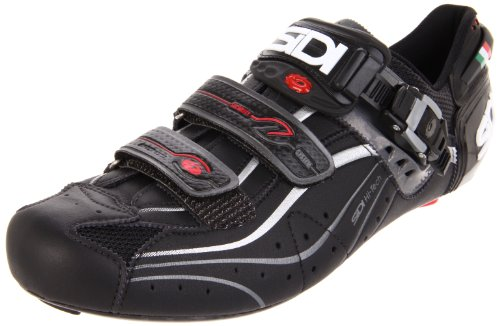 Sidi Genius 6.6 Carbon Cycling Shoe,Black,42.5 M EU (US M...