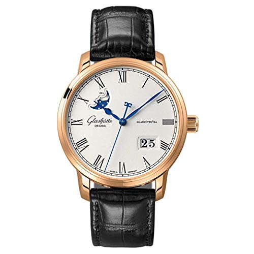 Glashutte Senator Panorama Date Moonphase 40 mm 100-04-32-15-04 Leather