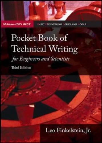 Pocket Book of Technical Writing for Engineers and Scientists. Leo Finkelstein, JR