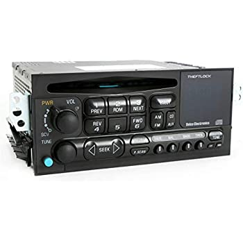 1 Factory Radio AM FM CD Player Radio w Bluetooth Upgrade Compatible With  1995-05 Chevrolet GMC Truck