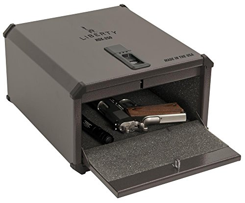Liberty 9G HDX-250 Smart Vault Biometric Safe – Safely secure your valuables or handgun in the new Home Defender