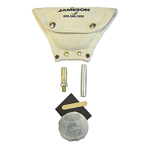 Jameson 9-25-AK Accessory and Repair Kit for Good Buddy Electrical Fish Tape Duct Rodder for 3/8-inch Fiberglass - Rodder Kit
