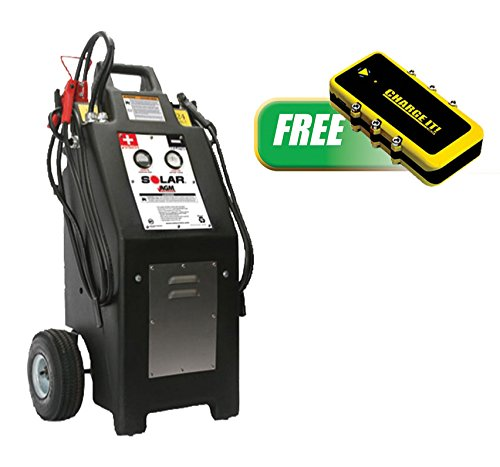 TCB-HT1224AGMP - Heavy Truck 12/24V Commercial Charger/Starter with FREE 12V POWER PAC Power Supply and Jump Starter