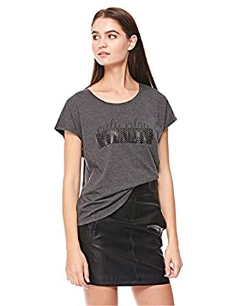 ONLY t-shirt for women in Grey Melange, XS
