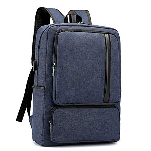 porta Viaggi grigio di laptop antifurto USB resistenti Ploekgda Blu laptop ricarica per Zaino affari slim con colore twqPxvRpFp