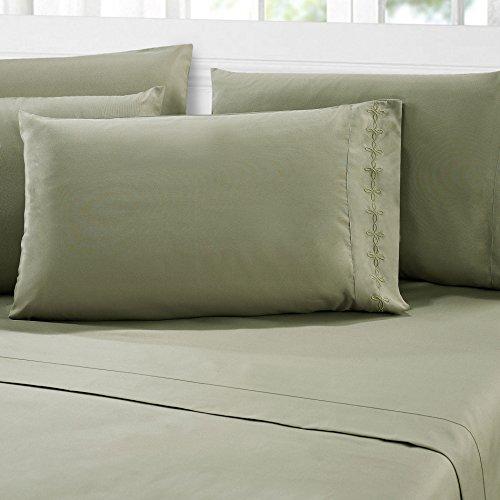 Amazon.com: serenta 1000 elegante y ropa de cama sábanas y ...