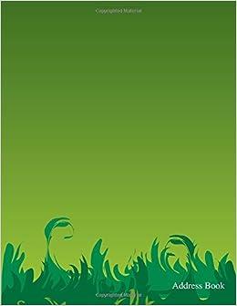 amazon green 10 blank journal address book daily journal