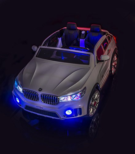 Bmw X7 Cost: SPORTrax Luxury Kid's Ride On Car, 2 Seater, Battery