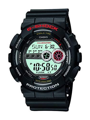 Casio G Shock Men's GD-100-1ACR G-Shock Digital Display Quartz Black Watch
