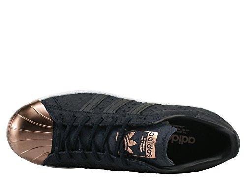 Adidas Damen Superster 80 Metalen Verpakking Sneaker Schwarz