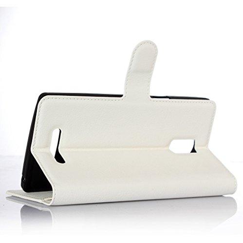 Funda Libro para Doogee DG580, Manyip Suave PU Leather Cuero Con Flip Cover, Cierre Magnético, Función de Soporte,Billetera Case con Tapa para Tarjetas D