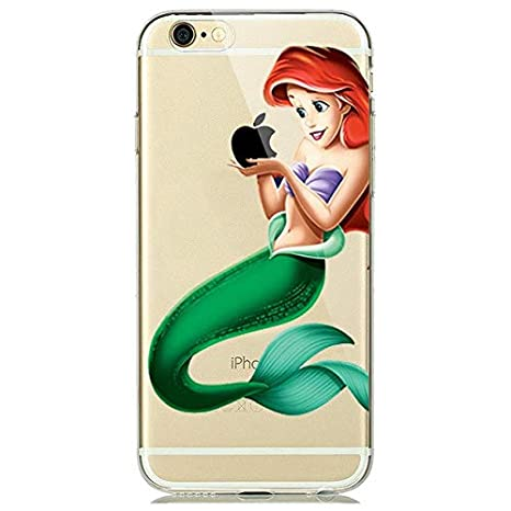 Desconocido Funda para iPhone La Sirenita Ariel Princesas ...