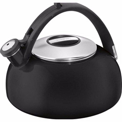 new-cuisinart-peak-2-qt-tea-kettle-blackpeak-porcelain-enamel-on-ctk-eos2bk-g344t3486g-34bg82g130314