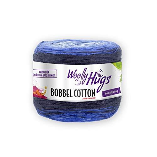 200g Bobbel mit langem Degrad/é mare Farbverlauf Woolly Hugs Bobbel Cotton Fb 24