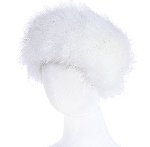 Soul Young Faux Fur Headband Women's Winter Earwarmer Earmuff