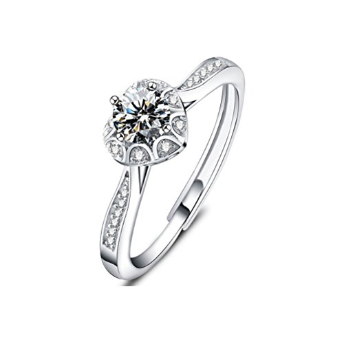 Jazlyn Sterling Adjustable Engagement Anniversary product image