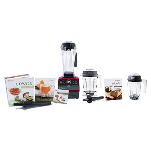 Vitamix CIA Professional Series Ruby 64 Ounce Blender Set...