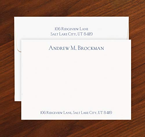 Personalized All-In-One Correspondence Cards with Envelopes - 1490