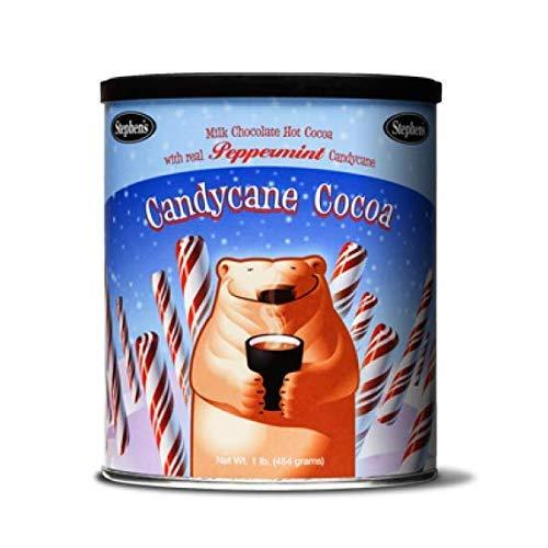 Stephen's Gourmet Hot Cocoa, Candycane Cocoa, 16-Ounce Cans