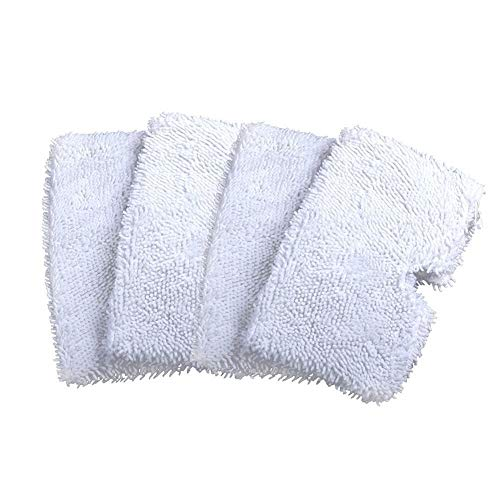 OUDER Washable Replacement Cleaning Mop Pads for Shark Steam Mop Pocket Microfiber Pads for S3500 Series, S3601 and S3901 (4) by OUDER