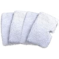 OUDER Washable Replacement Cleaning Mop Pads Shark Steam Mop Pocket Microfiber Pads S3500 Series, S3601 S3901 (4)