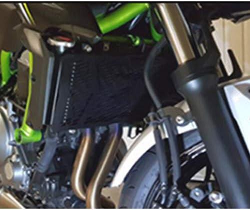 Z650 Schutzgitter Edelstahl Kühlerabdeckung Z 650 Motorrad Kühlerschutz Für Kawasaki Z650 2017 2018 2019 Schwarz 1 Paar Auto