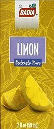 Badia Lemon Extract 2 oz(Pack of 3)