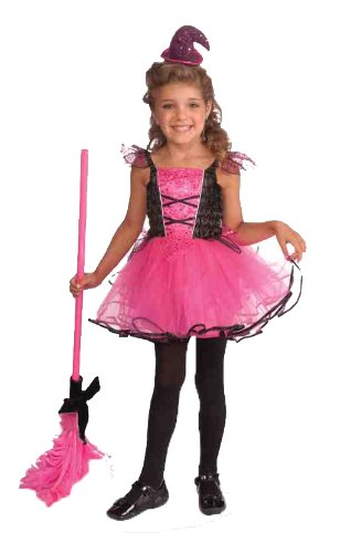 [Forum Novelties Sparkling Tutu Witch Costume, Toddler] (Witch Pretty Pink Toddler Costumes)