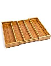 Seville Classics Bamboo Storage Box Set