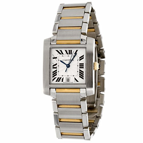 Cartier Tank de Cartier automatic-self-wind mens Watch W51005Q4 (Certified Pre-owned)