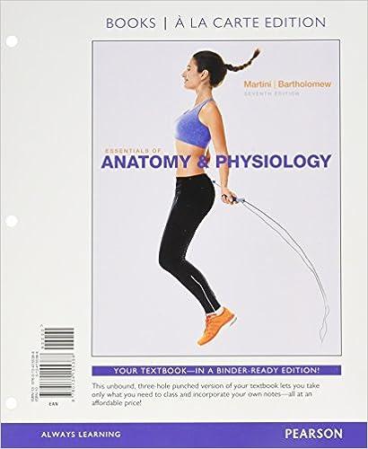 Amazon.com: Essentials of Anatomy & Physiology, Books a la Carte ...
