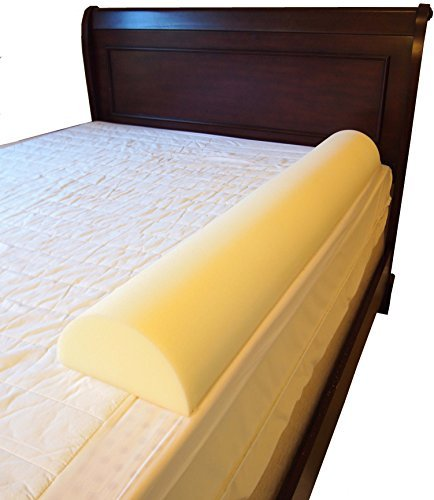 Mattress Cover Guard Rest (Put Big Girl/Boy Semicircle Bed Rail Bumper Pad for Toddler (7 inch by 51 inch Semicircle))