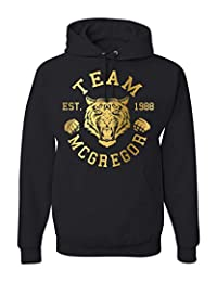 Team McGregor Tiger Conor McGregor Hooded Sweatshirt