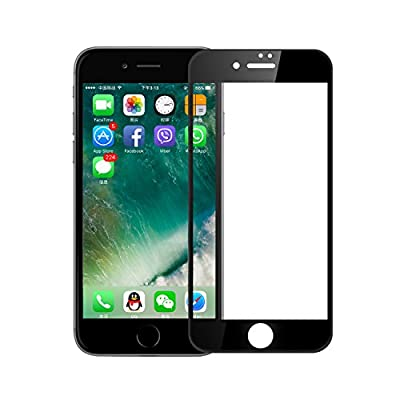 iPhone 7 Plus Screen Protector, VIUME Full Coverage 3D Touch Compatible Tempered Glass Screen Protector for Apple iPhone 7 Plus