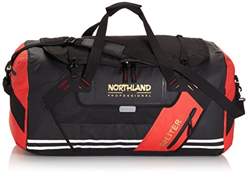Northland Professional Tasche Aquatic Duffle Bag, Black/Red, 66 x 45 x 38 cm, 902-07222