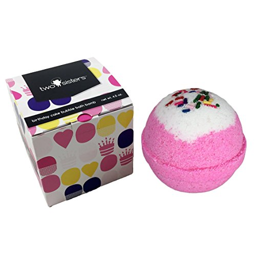 Birthday Cake Bubble Bath Bomb In Gift Box Large Lush