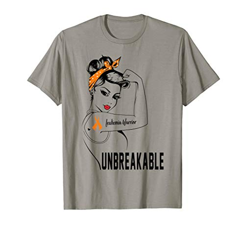 Leukemia Warrior Unbreakable T-Shirt