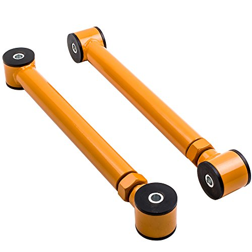 Waverspeed for Jeep Cherokee Control Arms, Rear Lower Adjustable Control Arms for Jeep Grand Cherokee WJ ()