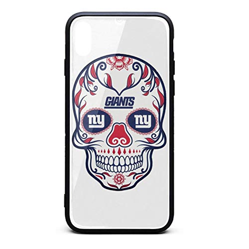 (ZaiyuXio iPhone X Case, iPhone Xs Case Tempered Glass Back Cover Scratch-Resistant Anti-Slip Soft TPU Frame for iPhone X/iPhone Xs)