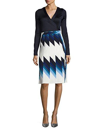 Pleated Woven Silk Dress - 2