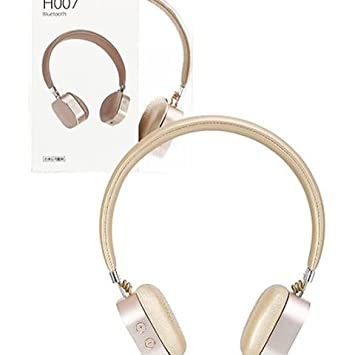 1cae3e1af4b Miniso GOLD Wireless Headphone Black Bluetooth Headset H007 (Gold):  Amazon.ca: Electronics