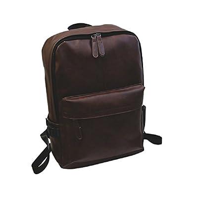 Coerni Fashion Unisex PU Leather Backpack durable service
