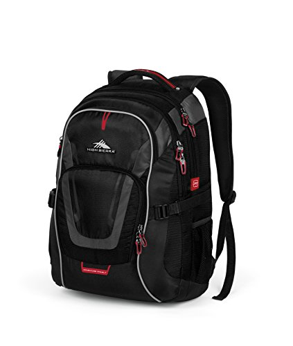 High Sierra AT7 Outdoor Backpack, Black