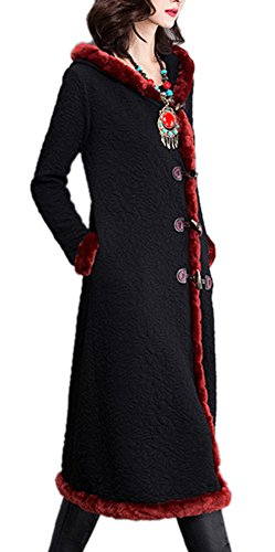youtobin-long-faux-fur-collars-jackets-thickening-warm-cotton-coat-xl-black