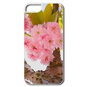 XUS Phone Case,Designed Cherry Blossom Fashion Apple Iphone 5 5s Case