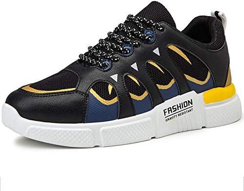 LZLHYH Zapatos Casuales para Hombres, Costuras Superiores, Suelas Resistentes, Zapatillas Extraíbles, Adecuadas para Caminar,Negro,44: Amazon.es: Deportes y aire libre