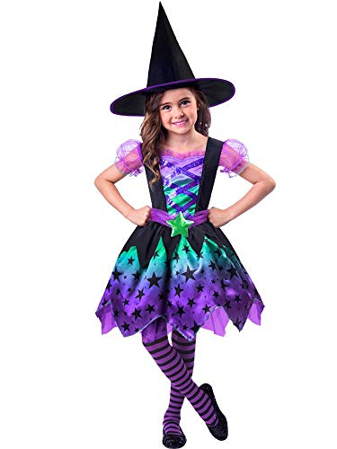 Comprar Disfraz de Halloween para niña de encantadora bruja - Disfraces Halloween para niñas - Tiendas Online - Envíos Baratos o Gratis