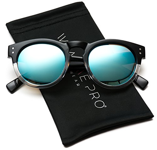 Vintage Inspired Mirror Horned Sunglasses product image