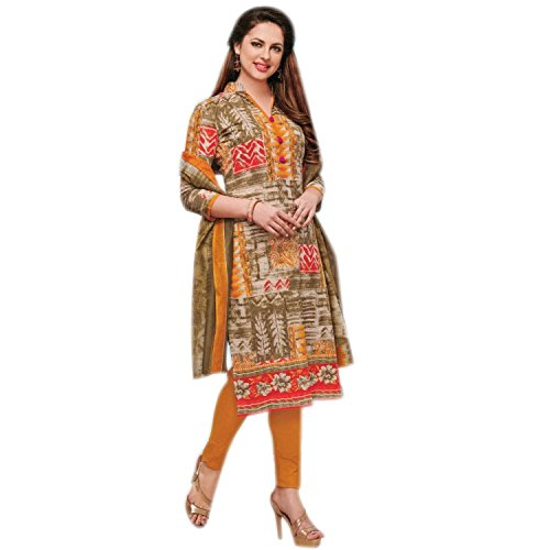 Ladyline Ready To Wear Ethnic Printed Pure Cotton Salwar Kameez Indian Dress Readymade Stitched Salwar Suit