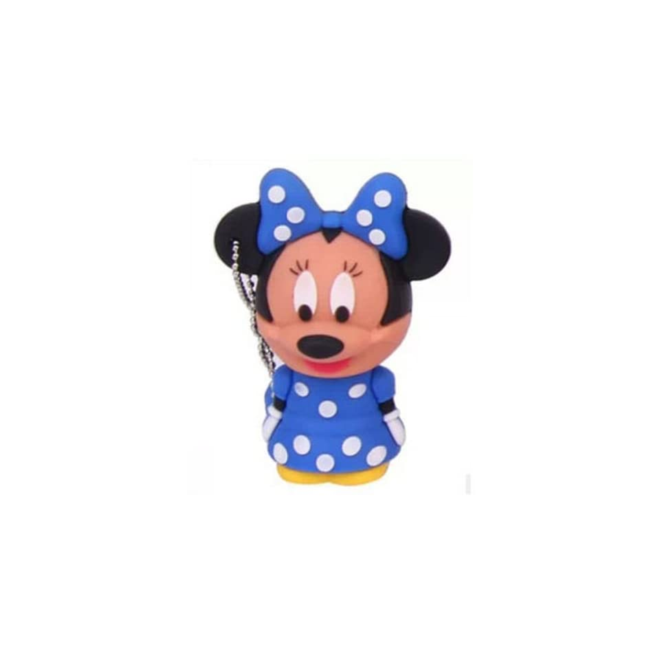 Ayangyang 16gb Lovely Usb Flash Drive USB Flash Drive Disk with Cartoon Mickey Shape U Disk Packet of 2